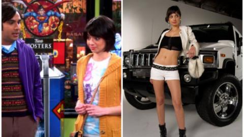 În Big Bang Theory era o timidă incurabilă, în realitate e o femeie super atrăgătoare. Cum arată, de fapt, iubita rușinoasă a lui Raj