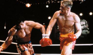 """""""Rocky 4"""", la 35 de ani. Dolph Lundgren, la un pas să-l omoare pe Sylvester Stallone în timpul filmărilor"""