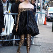Anya Taylor-Joy takes a step on the wild side at Good Morning America in NYC!