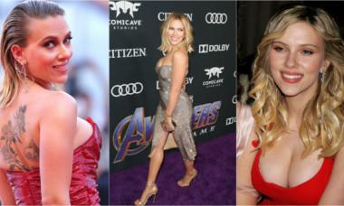 Nu degeaba a fost desemnată cea mai sexy femeie în viață. Apariția lui Scarlett Johansson a tăiat răsuflarea fanilor