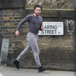 *EXCLUSIVE* The Game Of Thrones actor Kit Harington starts off 2021 with a run to his local park out in North London.*PICTURES TAKEN ON THE 02/01/2021*
