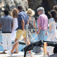 Steven Spielberg And Family Arrive At Eden Roc - Antibes