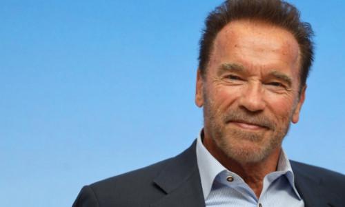 Arnold Schwarzenegger, haine colorate, atitudine relaxată. Actorul de 73 de ani a captat toate privirile cu mașina lui de epocă