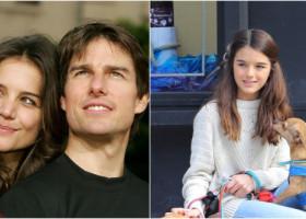Fiica lui Tom Cruise și a actriței Katie Holmes, tot mai frumoasă. Suri, combinația perfectă dintre cei doi