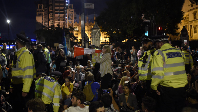 Protests Are Held Against The Government Proroguing Parliament