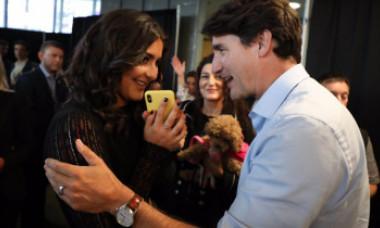 Justin Trudeau le-a mulțumit părinților Biancăi Andreescu că au imigrat în Canada