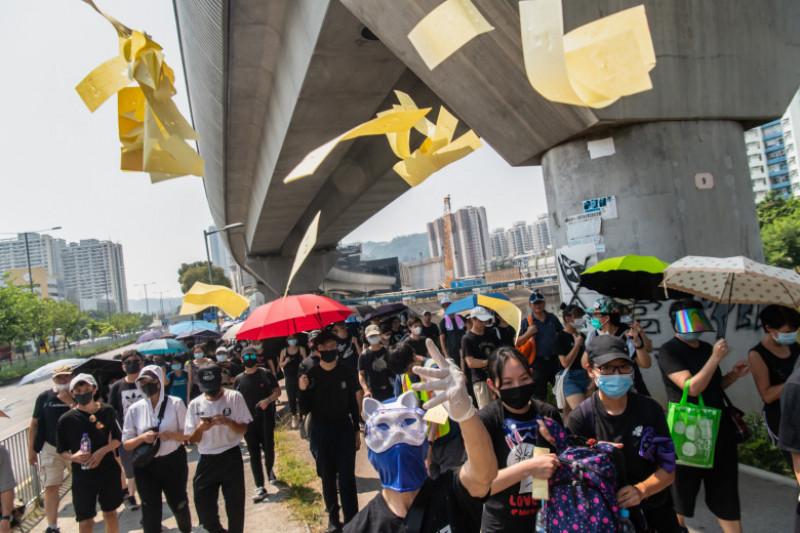 Hong Kong Marks China's National Day