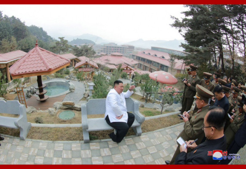 Kim Jong Un la spa