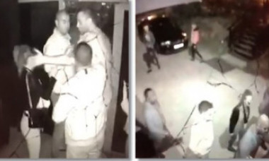 VIDEO. Au apărut primele imagini cu scandalul dintr-un club din Timișoara în care a fost implicat fiul lui Sile Cămătaru