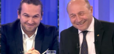 Replica lui Traian Băsescu i-a făcut pe invitați să râdă. Ce a spus fostul președinte despre o idee a Vioricăi Dăncilă
