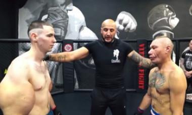 """Luptătorul poreclit """"Popeye"""" a încheiat o partidă de MMA după doar trei minute. Ce s-a întâmplat în ring. VIDEO"""