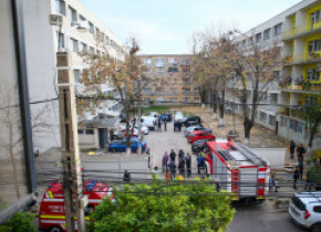 Alertă la Timișoara. Încă un bloc a fost evacuat din cauza substanțelor folosite la deratizare