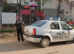 Paznic amendat de Poliţia Locală fiindcă a ţipat prea tare că au venit hoții