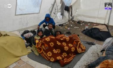 Cea mai periculoasă tabără de imigranți din Europa oferă priveliști greu de imaginat