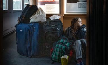 Greta Thunberg s-a plâns că nu a prins loc într-un tren din Germania. Reacția Deutsche Bahn