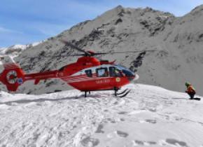 Copil de 6 ani căzut din telescaun la Sinaia, a fost chemat elicopterul SMURD