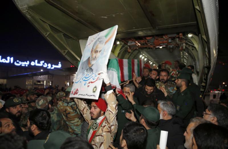 Aftermath of top Iranian General Qasem Soleimani killed in US airstrike in Baghdad