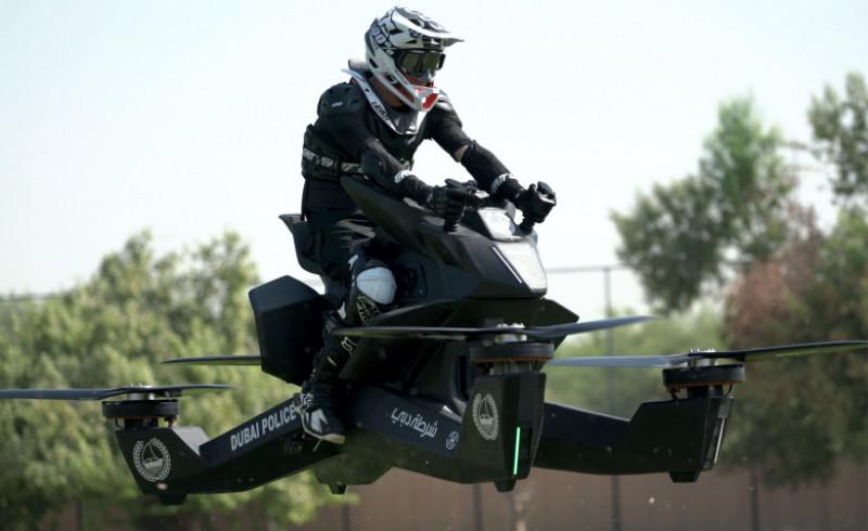 Dubai police set to get hoverbikes