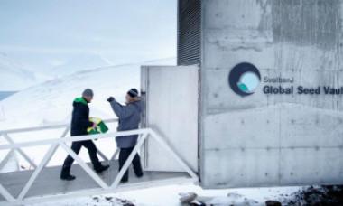 """Ce adăpostește """"Seiful Judecăţii de Apoi"""", ascuns într-un buncăr dintr-un munte din Arctica"""