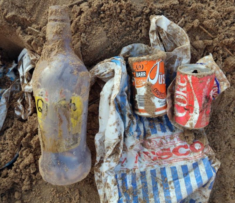 deșeuri plajă