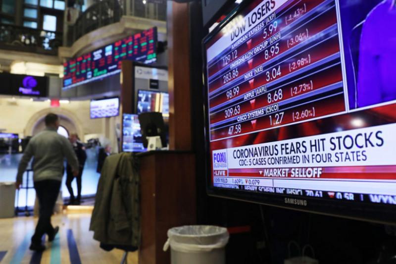 bursa New York, Wall Street, indici bursieri, impact coronavirus asupra NYSE/Wall Street