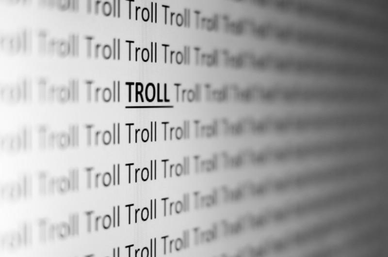 Troll Font Computer