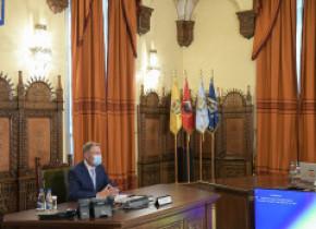 Klaus Iohannis a prezentat noua Strategie Națională de Apărare: Trebuie să ținem cont de deteriorarea relațiilor dintre NATO și Rusia