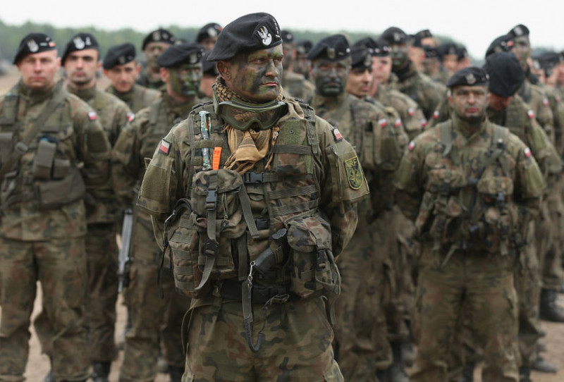 militari din Forța de Reacție Rapidă a NATO