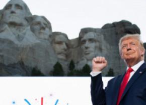 Donald Trump, discurs inflamator de 4 iulie: Suntem sub asediul fascismului de extremă-stânga