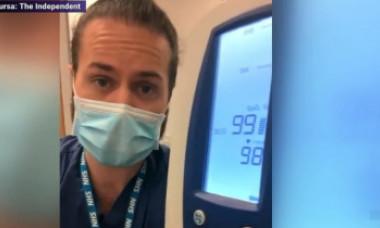 VIDEO. Cum afectează masca respirația. Demonstrația practică a unui medic