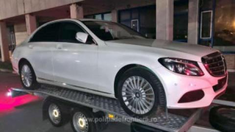 Un ungur a intrat în Vama Borș cu un Mercedes de 20.000 de euro pe platformă și a ieșit fără el