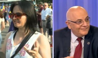 VIDEO. Cum a reacționat Raed Arafat când a văzut ce susțin participanții la protestul din Piața Victoriei