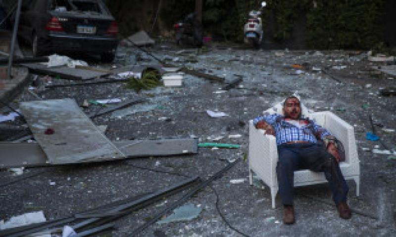 GALERIE FOTO: Apocalipsa în imagini la Beirut. Cum arată capitala libaneză și locuitorii ei după explozie