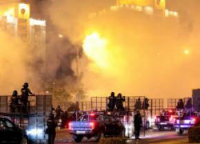 """Noi proteste la Minsk. Svetlana Tihanovskaia, rivala lui Lukașenko, de negăsit """"de câteva ore"""". Autoritățile au tăiat internetul"""
