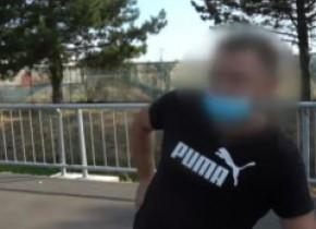 VIDEO. Beat a rămas fără permis de conducere, beat a venit la examen