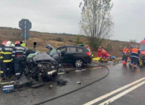 Tragedie pe șosea. Accident grav soldat cu un deces și 4 răniți, în Sălaj