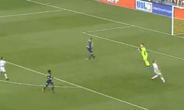 Un fotbalist american a reușit un gol incredibil în ultimul minut de joc