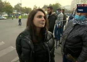 VIDEO. Pelerinaj cu scandal în București. Tânără: Dau în judecată și Poliția Română, și pe Arafat, și pe Orban. Și o să și câștig!