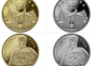 Noi monede introduse în circulație de BNR, dedicate domnitorului Alexandru Ioan Cuza