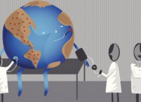 """12 idei, mai mult sau mai puțin trăsnite, pentru """"răcirea"""" planetei"""
