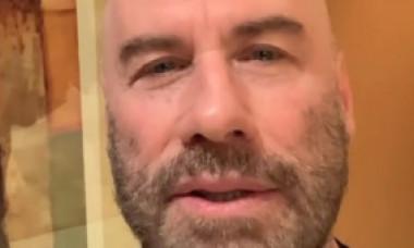 VIDEO. Mesaj emoționant transmis de John Travolta fanilor după moartea soției