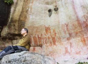 Mii de picturi cu animale uriașe ale epocii glaciare, vechi de 12.000 de ani, găsite în pădurea amazoniană