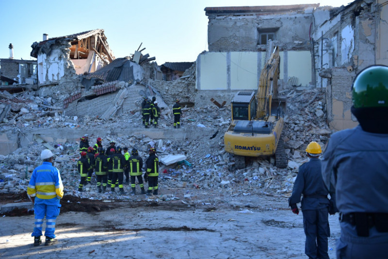 Magnitude 6.2 Earthquake Hits Central Italy