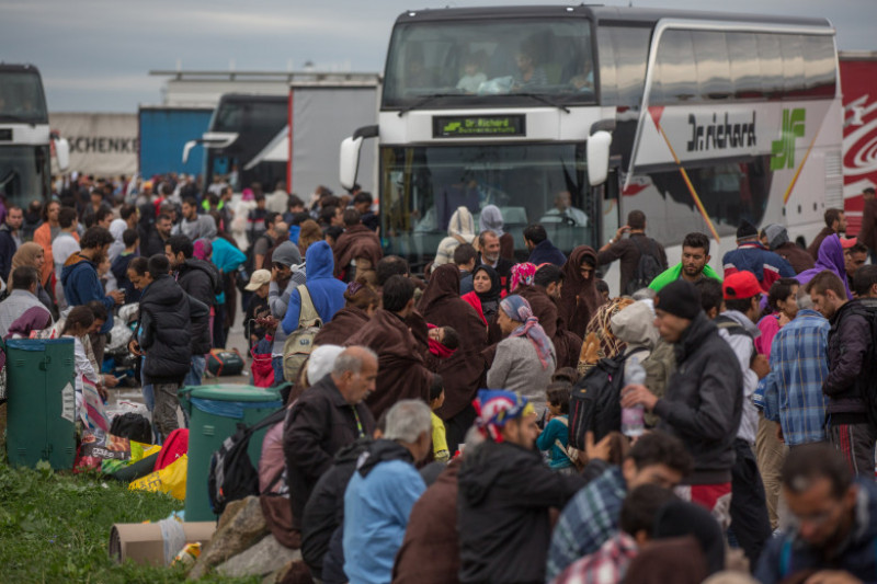 Austria Opens The Border To Thousands Of Migrants