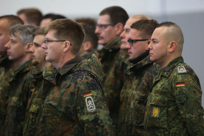 Bundeswehr Troops Depart For Syria Deployment