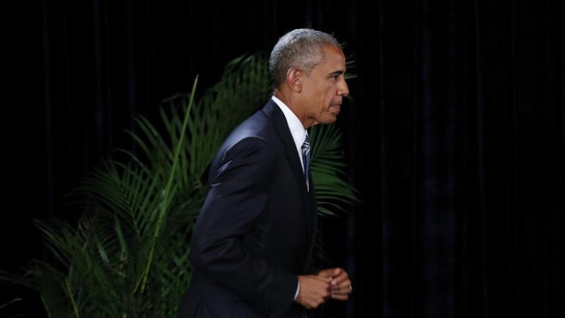 U.S. President Barack Obama Holds A Press Conference