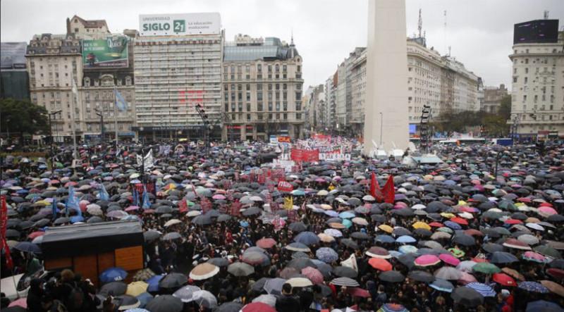 protest argentina