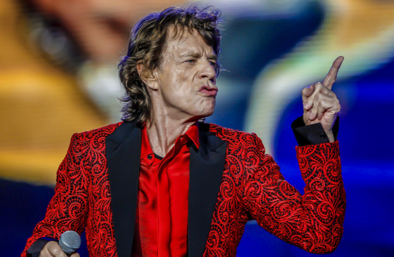 The Rolling Stones In Concert - Indianapolis, IN