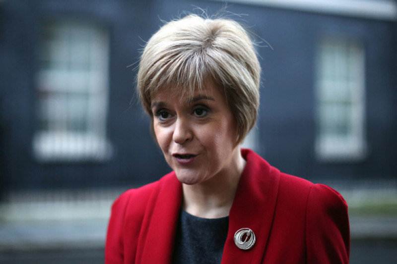 First Minister Nicola Sturgeon Meets With Prime Minister David Cameron