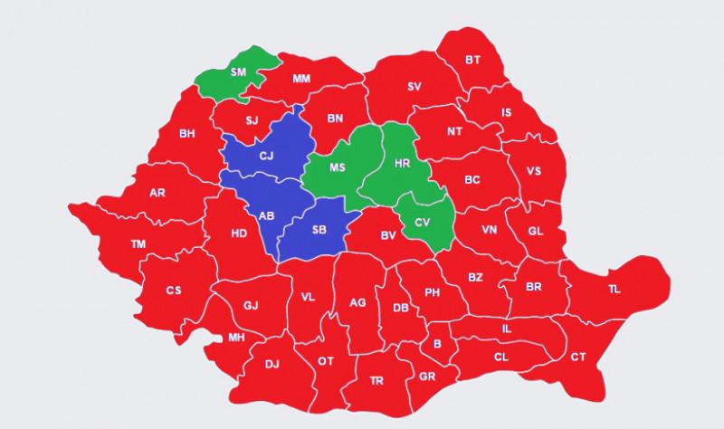 harta alegeri